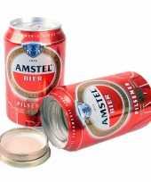Amstel bier blikje geheim geldkistje bewaarblik